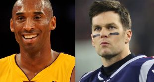 Kobe Bryant and TOm Brady