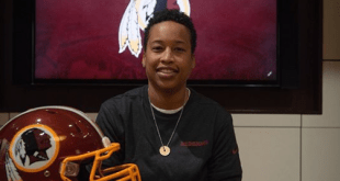 Jennifer King for Redskins