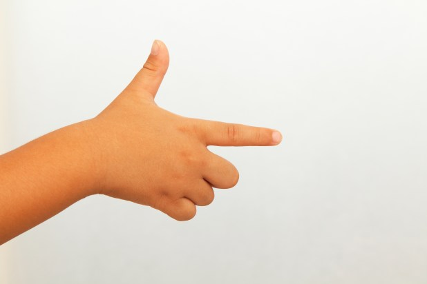 Finger gun debate