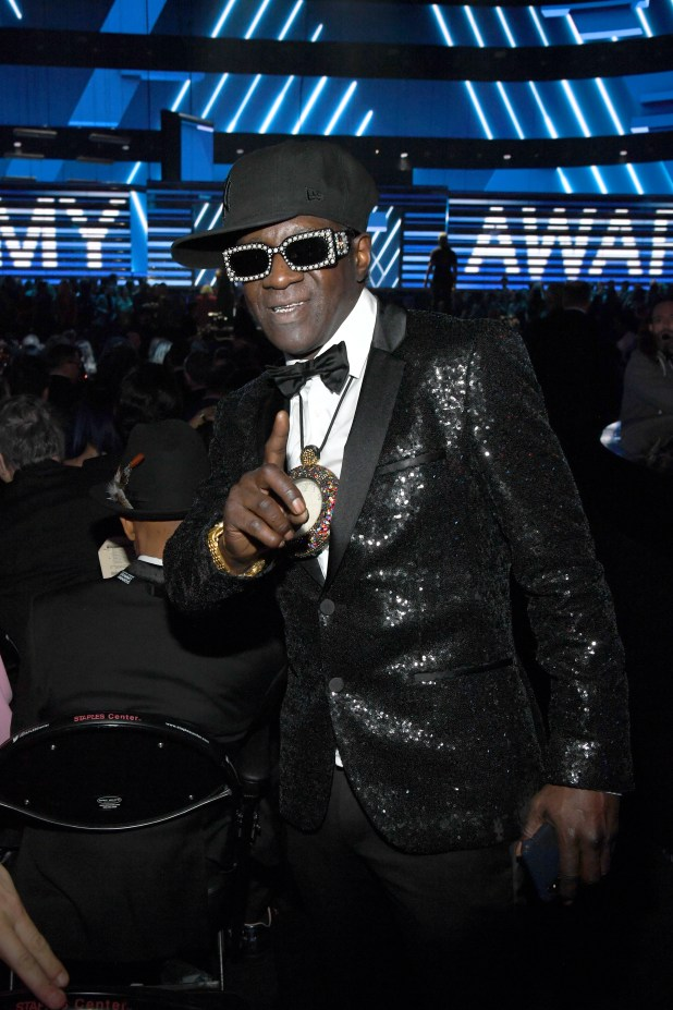 Flavor Flav kicked out