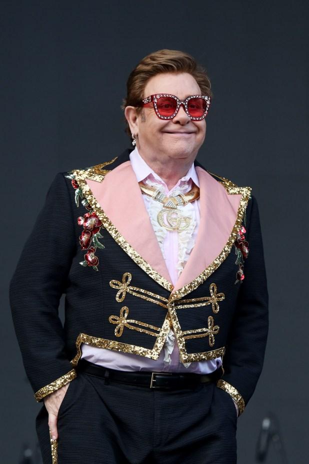 Elton John benefit