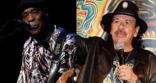 Buddy and Carlos Santana