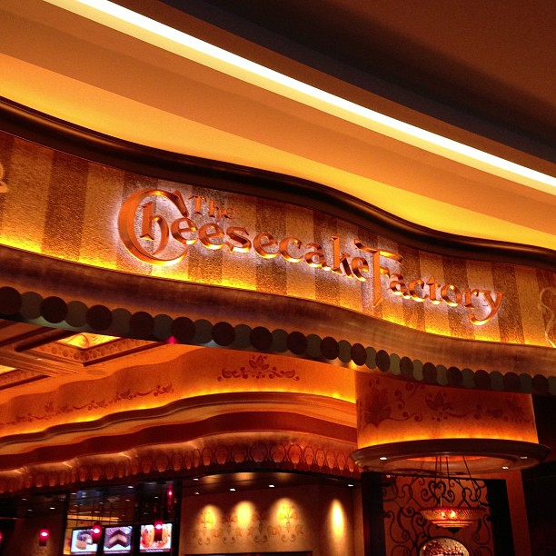 Cheesecake Factory Can't With Rent