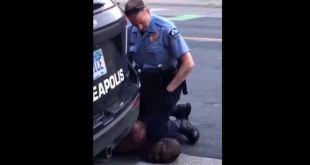 Police Officer Kneeling On Neck