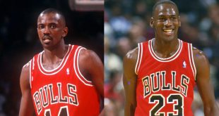 Michael Jordan and Craig Hodges