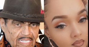 Joe Jackson and Granddaughter