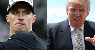Trump vs Drew Brees