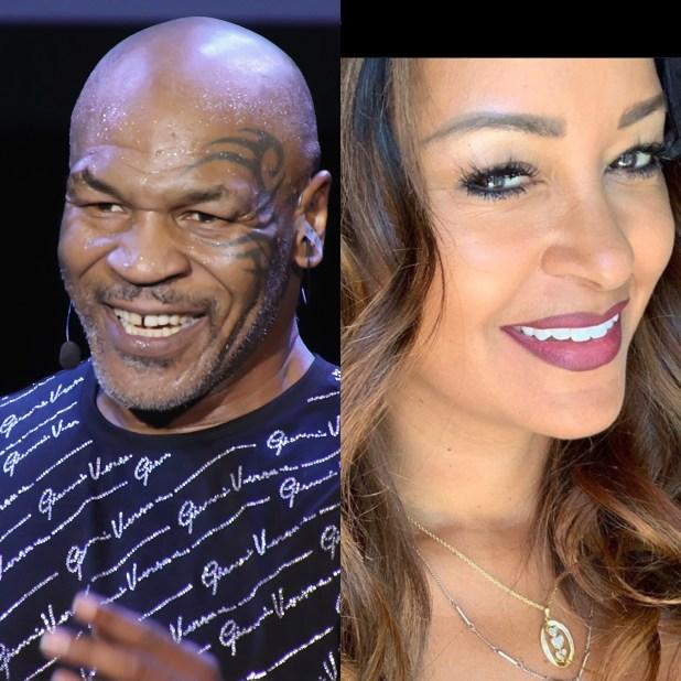 Mike Tyson and Claudia Jordan