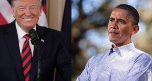 Trump and Barack Obama
