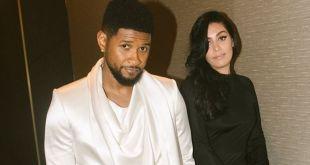 Usher expecting