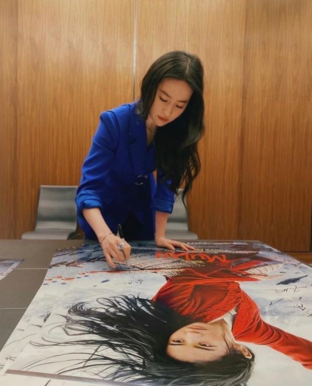 Mulan Actress