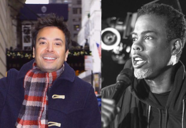 Jimmy Fallon and Chris Rock