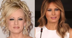 Stormy and Melania