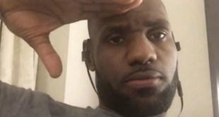 LeBron James Selfie