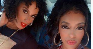 Tanya and Porsha