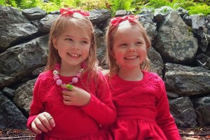 Michele Boudreau Deegan's twin daughters - Facebook