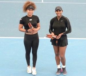 Serena Williams and Naomi Osaka (IG)