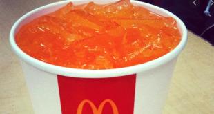 orange c mdonalds
