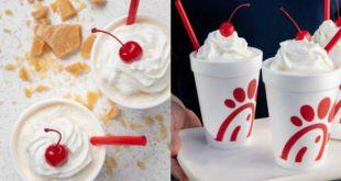 chick fila milkshakes