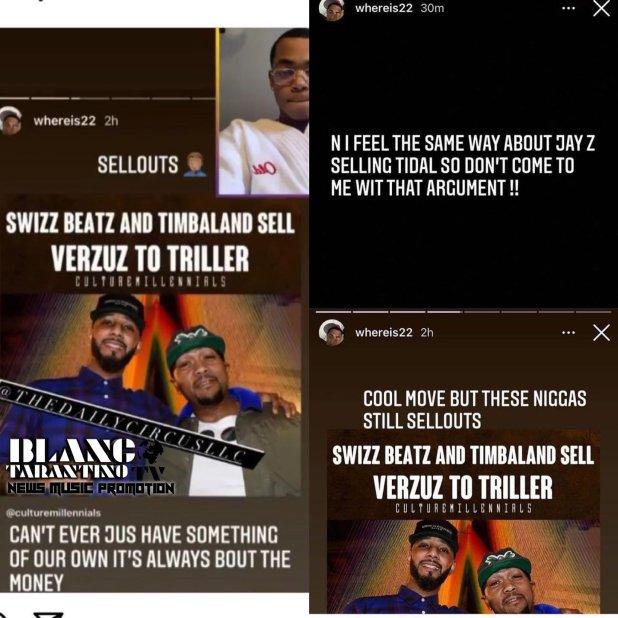 Michael Rainey Jr. Calls Timbaland and Swizz Beatz Sellouts