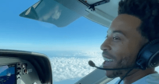 Ludacris flying plane
