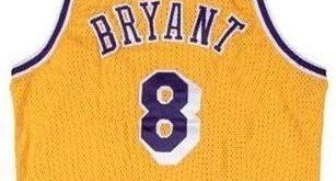 Kobe rookie jersey