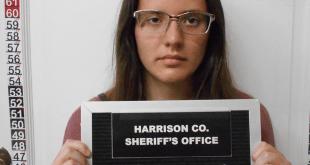 Corissa McCalister, 21. - HARRISON COUNTY SHERIFF'S OFFICE