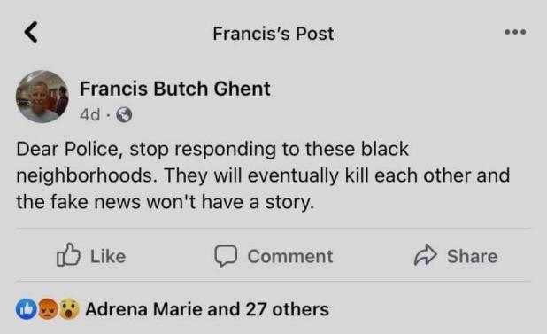 "Francis ""Butch"" Ghent"