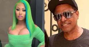 Nicki Minaj and father Robert Maraj