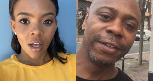 Candace Owens and Dave Chappelle (Selfies)