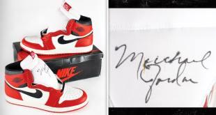 Michael Jordan Auction