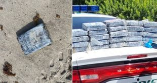 Cocaine Washes Ashore At Cape Canaveral