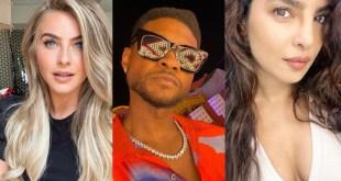 Usher, Priyanka Chopra Jonas, and Julianne Hough