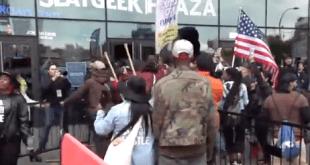 barclays protestors