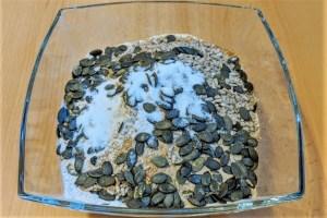 Vollkorn-Körnerbrot leinsamen