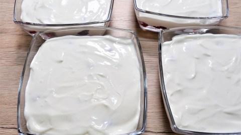 Himbeere Amarettini Dessert