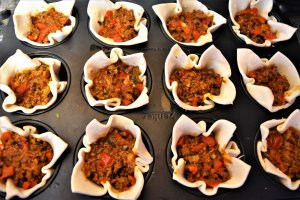 Bolognese Muffins Zubereitung 7