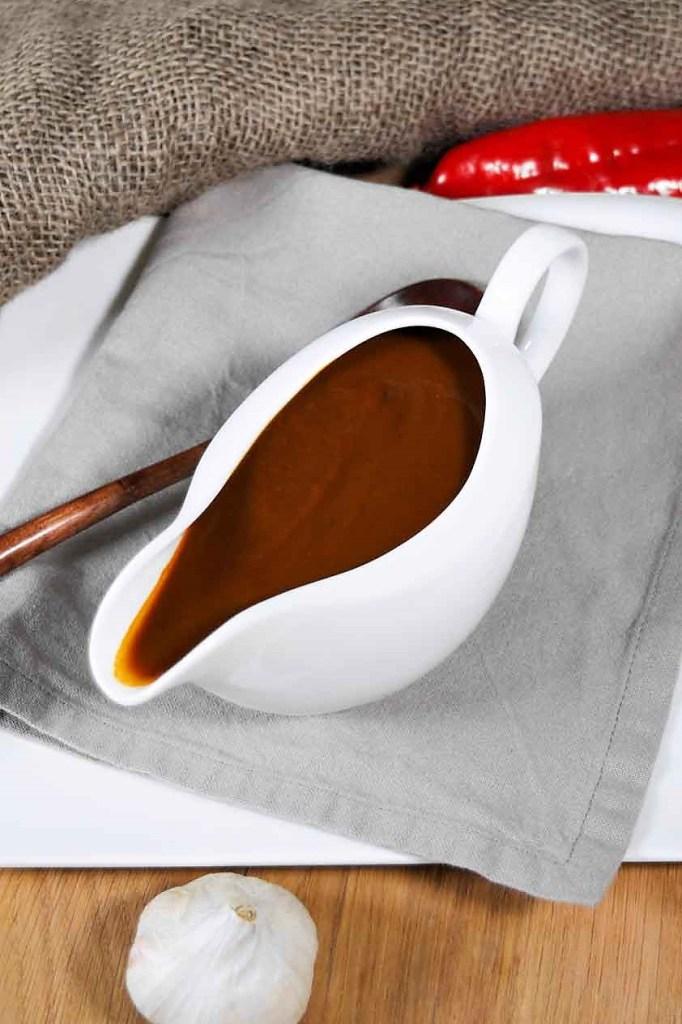 Bratensoße mit Kakao-Beilage-ballesworld