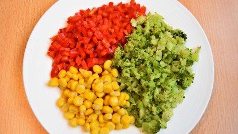 Frittierte vegetarische Bällchen mit Broccoli 3