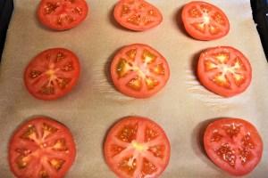 Tomaten mit Brösel Haube Zubereitung 5