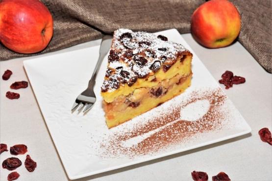 Nudel-Apfel-Kuchen Dessert