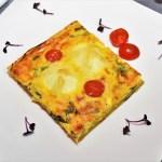 Quiche mit gekochten Eiern und Bärlauch-Rezept-ballesworld