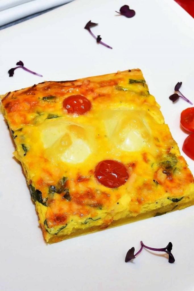 Quiche mit gekochten Eiern und Bärlauch-Rezeptideen-ballesworld