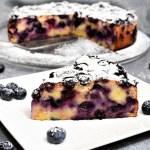 Heidelbeeren alte Brötchen Kuchen