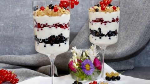 Johannisbeeren Trio Dessert