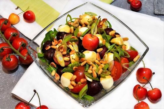 Kirsch Tomaten Salat-Rezept-ballesworld