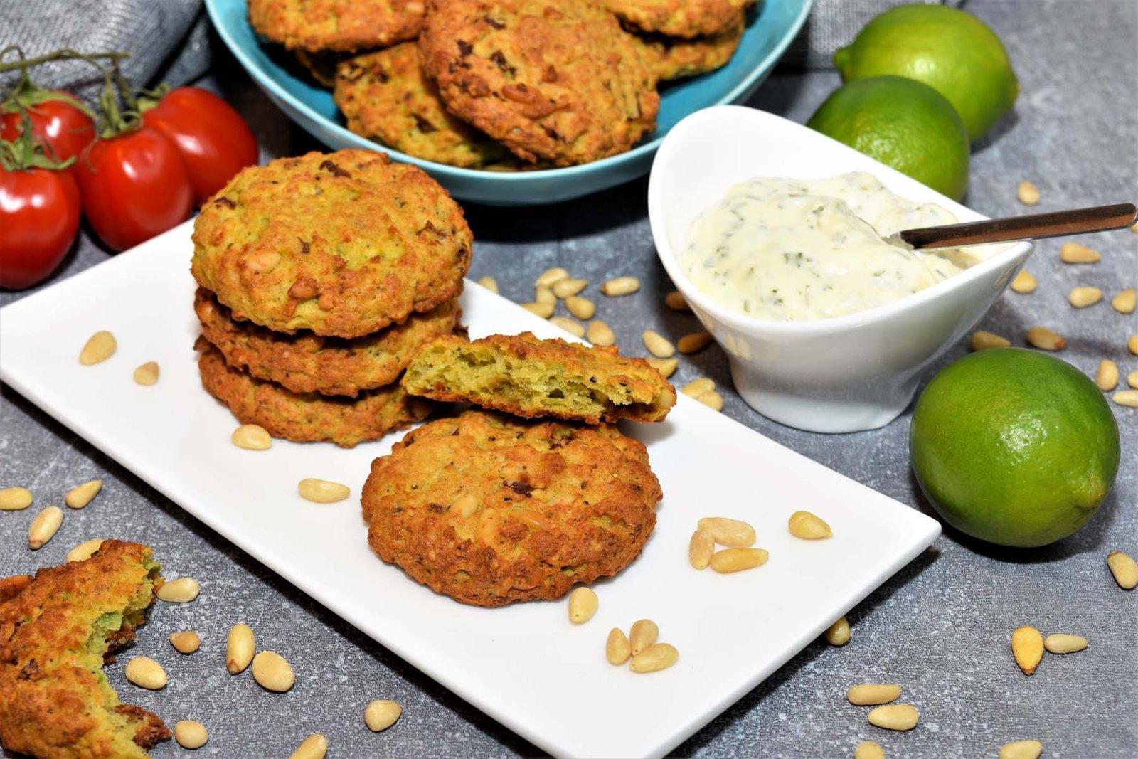 Herzhafte Avocado Cookies Rezept