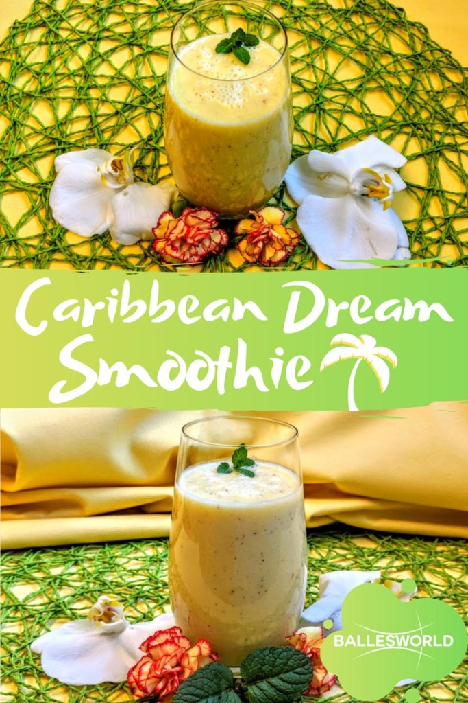 Caribbean Dream Smoothie pin