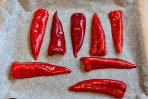 Schnelle Eierpfannkuchen paprika