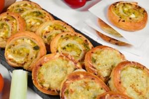 Schnecken mit Lauch und Käse Rezept